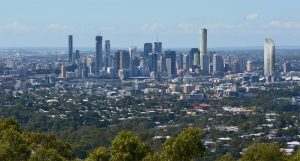Brisbane City from Mount Coot-tha Lookout