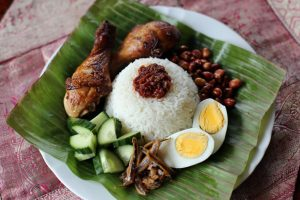 Asian food, Nasi Lemak