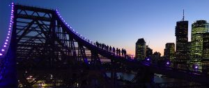 Night Climb at Story Bridge