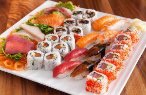 Asian food, Sushi