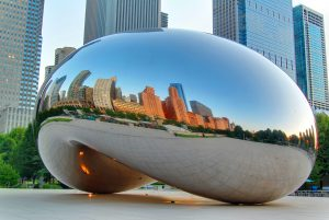Cloud Gate or the Bean
