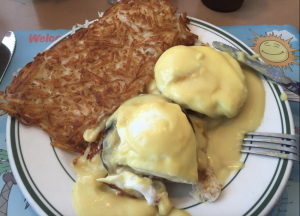 Eggs Benedict & Hash Brown, Jimmy's Eastside Diner