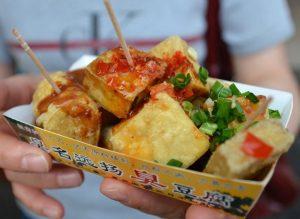 Taiwan Stinky Tofu, Taiwanese food